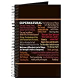 CafePress - Supernatural Funny Journal - Spiral Bound Journal Notebook, Personal Diary, Lined