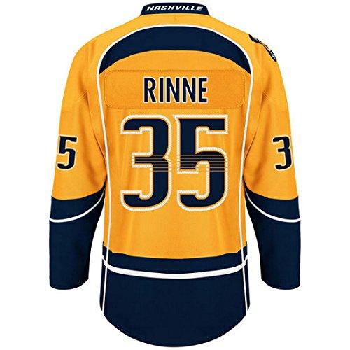 Men's Pekka Rinne #35 Nashville Predators Premier Hockey Jersey (M)