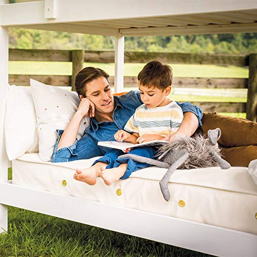 Naturepedic 2 in 1 Organic Cotton Ultra/Quilted Mattress, Full (528 Coil)