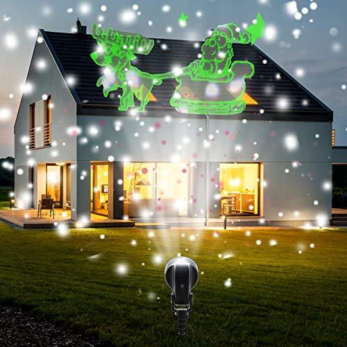 Santa Claus Garden Lights in US - 2