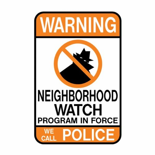 (Tapco CW-1 Engineer Grade Prismatic Rectangular Neighborhood Safety Sign, Legend