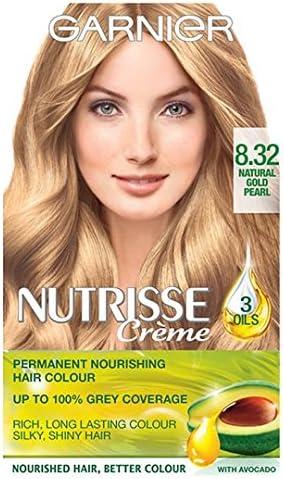 Garnier Nutrisse crema permanente 8.32 Natural dorado Pearl ...