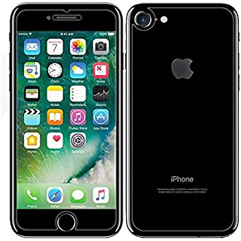 hot sale online c6fd1 6321a iPhone 8 / iPhone 7 Front and Back Screen Protector 2-Pack, DGBAY Front +  Back Rear Tempered Glass Anti Scratch/Bubble Free [9H Hardness 0.26 mm  2.5D] ...
