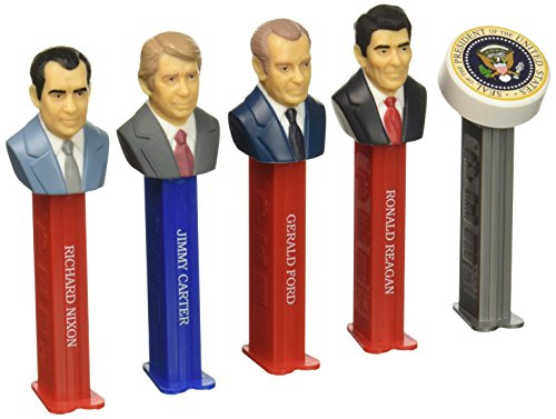 Presidents of The United States Volume 8 - Pez Limited Edition Collectible Gift Set (Nixon, Ford, Carter & Reagan) by Pez Candy