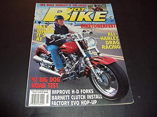 - Hot Bike Mar 1997 All Harley Drag Racing, Harley VR-1000