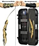 Spyder and Spyder XL Takedown Recurve Bow - Ready 2 Shoot Archery Set | Includes Bow, Premium Carbon Arrows, Recurve Bow Case, Stringer Tool, Armguard