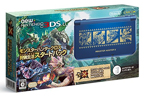 New Nintendo 3DS XL Monster Hunter Cross Hunting life Sta...