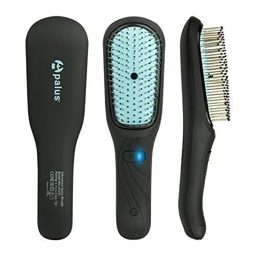 Cepillo Masajeador para el Cuero Cabelludo Vibratorio Eléctrico APALUS, Cepillo para el Pelo Iónico, Tratamientos para un...
