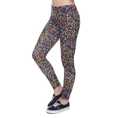 Impreso Alta Yoga Pantalones Legins Fashion 90 De Lga41590 Cintura Años Mujeres Legging Leggings Strewn Creativa Moda Lannister Mujer 1BUXwx6qtx