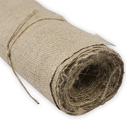 Burlap Roll - 40 Inches Wide by 5 yards long - for Crafts, Plant Protection and Storage