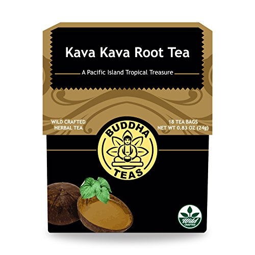 Kava Root Tea Caffeine Free Bleach Free