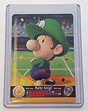 Baby Luigi Tennis amiibo Card for Mario Sports Superstars