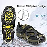 Crampons Ice Cleats for Shoes and Boots Women Men