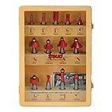 Freud 91-100 13-Piece Super Router Bit Set with