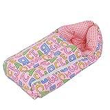 Kuber Industries 3 In 1 Baby Bed Cum Bedding Set/ Baby Carrier/ Sleeping Bag (KI3452)