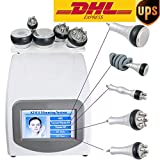 5 IN 1 40K Cavitation Machine Vacuum Anti-Aging Multipolar RF BIO Hot & Cold Hammmer Body Slim Slimming Machine