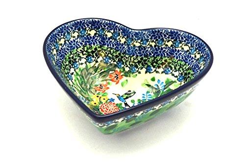 Polish Pottery Bowl - Deep Heart - Unikat Signature U3271