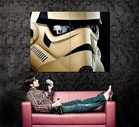 Amazon.com: xd7084 un casco de Stormtrooper Reflejos Star ...