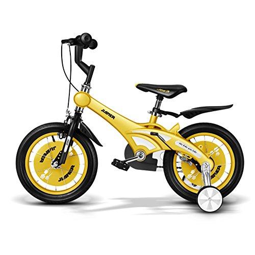 XQ- TR-437 Rose Bicyclette Pour Enfants Kids Bike 3-8 Ans Fille Équitation Sécurité Stable 14 Pouce, 84 * 18 * 50cm