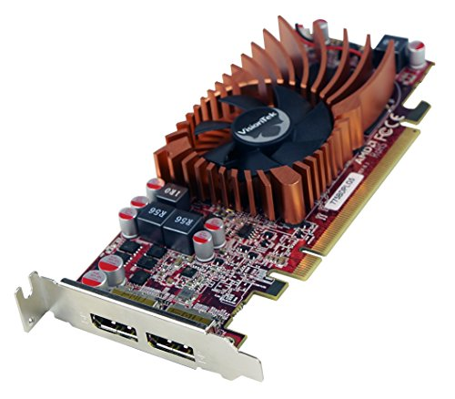 VisionTek Products 900942 Radeon 7750 SFF 2GB GDDR5 2X DP Graphics Card (Pc Video Card With Hdmi)