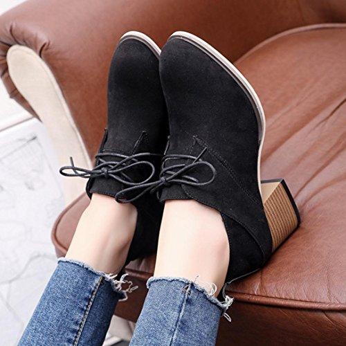 Chaussure Western Vintage Automne Bottine Sexy Overdose Chaussures Lacets Bottes Talon Femmes Boots Mode Femme Hiver rqFtwCr