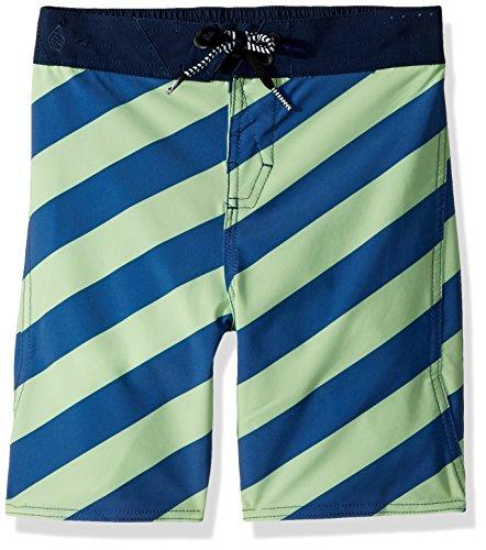 Volcom Little Boys Stripey Elastic 12.5 Adjustable Waist Boardshort