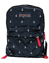 JanSport Classic SUPERBREAK BACKPACK - RED TAPE / LAND AHOY LIMIT EDITION