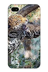 New Summerlemond Super Strong Animal Leopard Tpu Case Cover Series For Iphone 4/4s