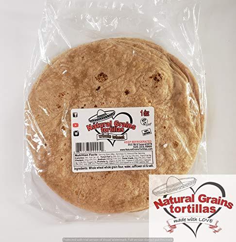 Natural Grains Tortillas 8.5