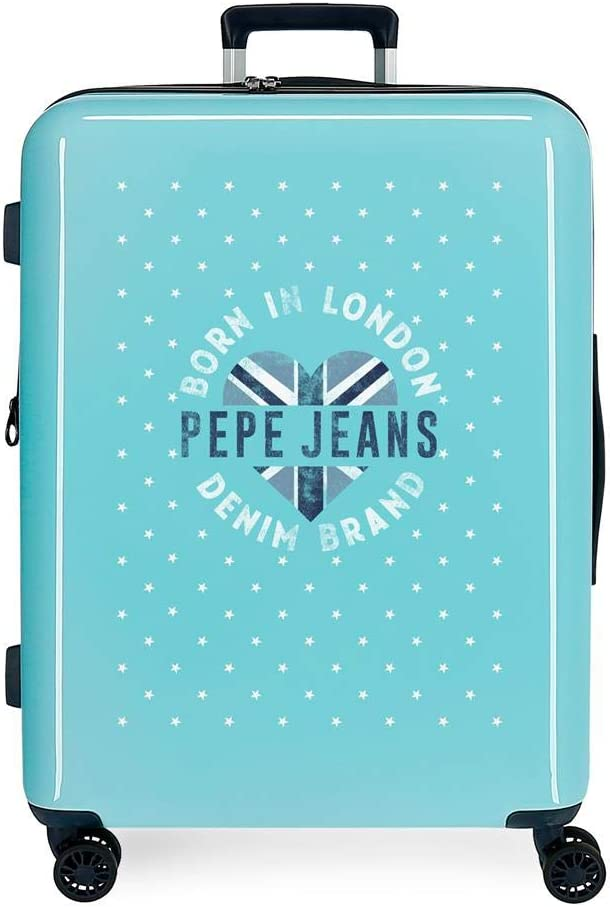 Maleta Mediana rígida 70cm Pepe Jeans Emory Stars