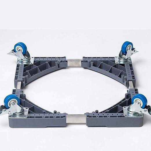 MSLYDYG Lavar Base Móvil máquina Multi Funcional, con 4 Bloqueo de ...
