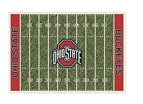 Ohio State Buckeyes College Team Gridiron Rug from Miliken