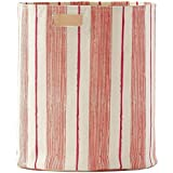 Pehr Designs Corsica Stripe Hamper, Melon/Peony - Melon/Peony by Pehr Designs