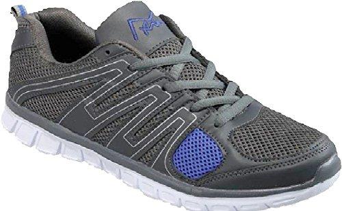 Mair M-air Ultra Leggero, Sneakers Da Uomo Sportive, Materiale Mesh Traspirante, Scarpe Da Passeggio Sprint Blu