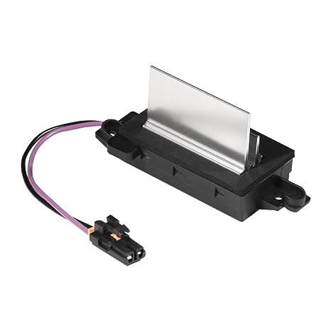 AC Blower Control Module Replaces 1580567 93803636 52413530 89018778 4P1516 Fits Chevy Silverado Trailblazer Cadillac Escalade GMC Envoy