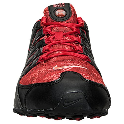 Amazon.com | Authentic Nike Shox NZ SE Jacquard University Red Wht Blk #  807230 600 Men Sz 10 | Running