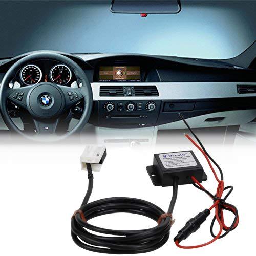 Drimfly BMW Auxiliary Input Bluetooth Adaptor,Music Streaming for BMW 5-Series,6-Series,7-Series,E60, E63, E64, E65, E66, CD Player Radio iPod iPhone -