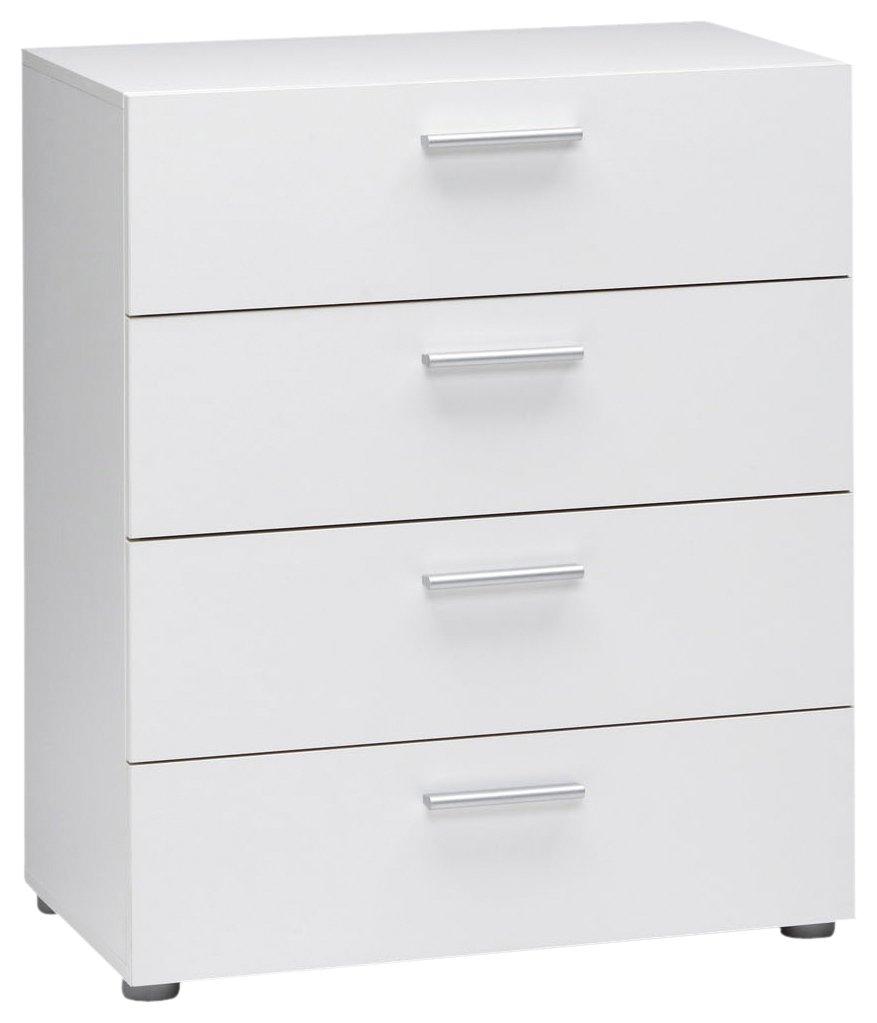 Tvilum Austin 4-Drawer Dresser, White