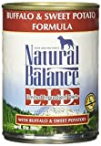 Natural Balance Limited Ingredient Diets – Buffalo & Sweet Potato – 12 x 13 oz