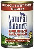 Natural Balance Limited Ingredient Diets - Buffalo & Sweet Potato - 12 x 13 oz
