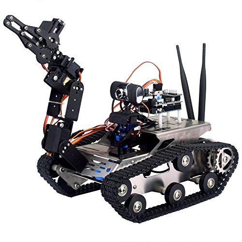 Kuman Wireless Wifi Manipulator Robot Car Kit For Arduino