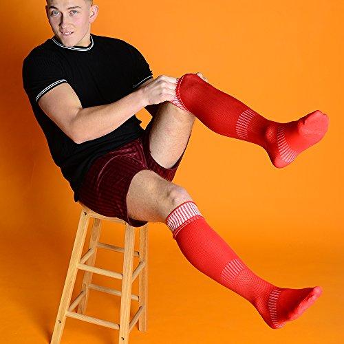 amp; Sport Chaussettes Eesa De Adam Garçon Red 0wBdqd