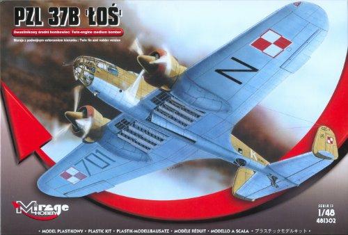 Mirage Hobby PZL 37B LOS Twin-Engine Medium Bomber (Bomber Twin Engine)