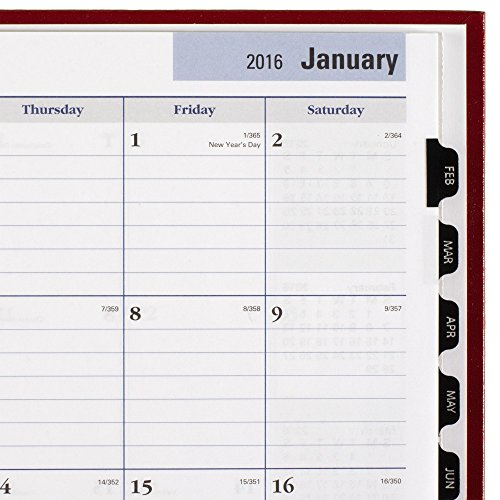 DayMinder Monthly Planner 2016, Premiere, 7.88 x 11.88 Inches, Assorted Colors - Color May Vary (G470H-10) Photo #9