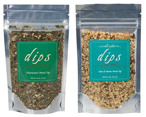 Salsa di Parma and Charmane's Bread Dip Gourmet Seasoning Set