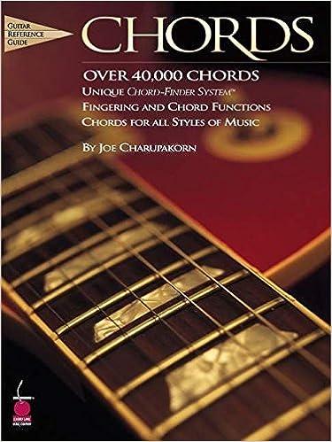 Chords Guitar Reference Guide Joe Charupakorn 9781575601984