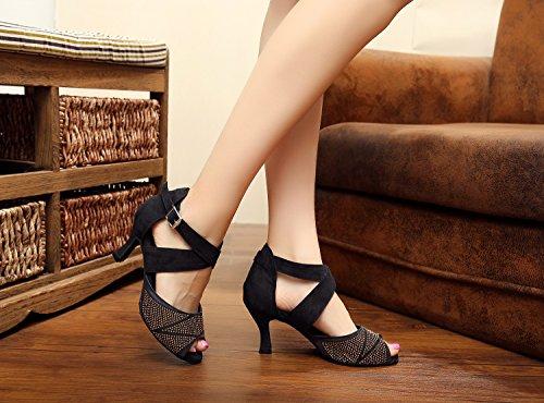 Minitoo - Zapatillas de danza para mujer negro