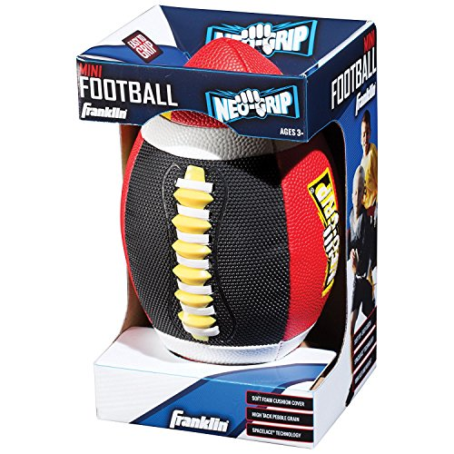 Franklin Sports Grip-Tech Mini Football (Assorted Colors) 11359