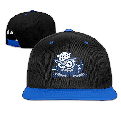 (Rice University Owls Adjustable Casual Hip-hop Baseball Cap RoyalBlue)