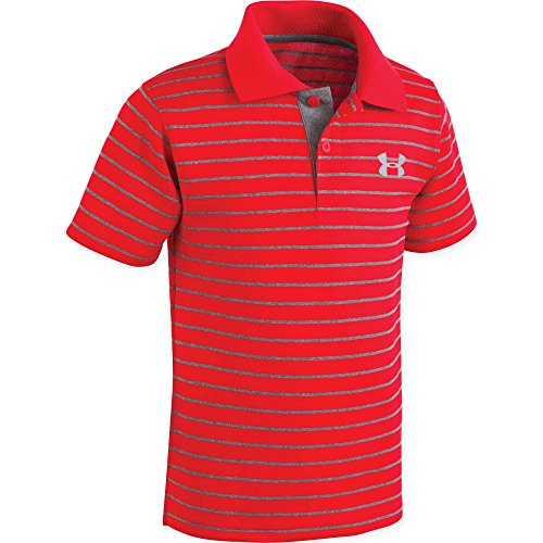Under Armour Baby Boys Playoff Stripe Polo, Red, 18M by Under Armour